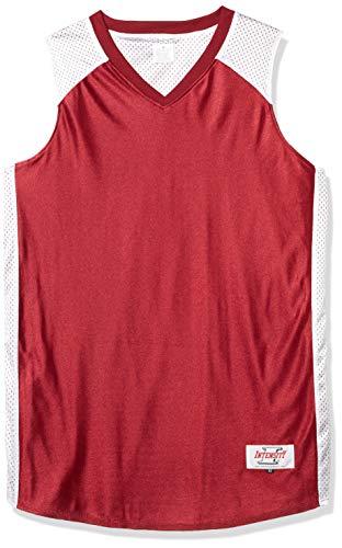 Intensity Mens Dazzle V-Neck Side Panel Basketball Jersey