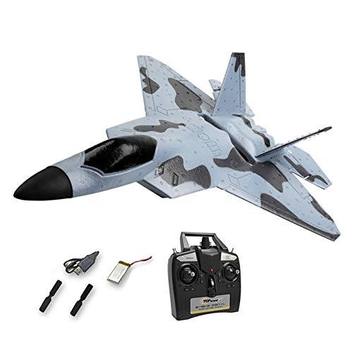 ZS ZHISHANG F-22 Raptor Model RC,F-22 Raptor Model RC Plane Glider Remote Control Plane Drone EPP Remote Control RC Airplane RTF Kids