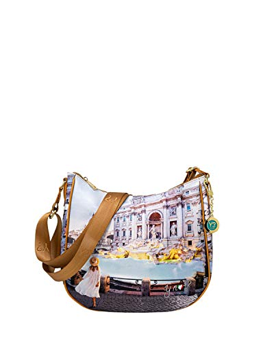 Y-Not? Borsa Donna shoulder bag large yes-438s1 unica roma trevi