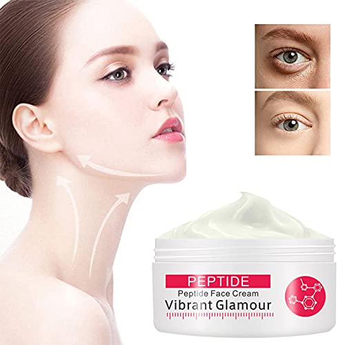 DFC Anti-Aging Vibrant Glamour Rewind Cream,Collagen Peptide Face Moisturizer with Vitamin Enhances Skin Firmness for Neck Facial for Face Moisturizer Travel/Gift Set