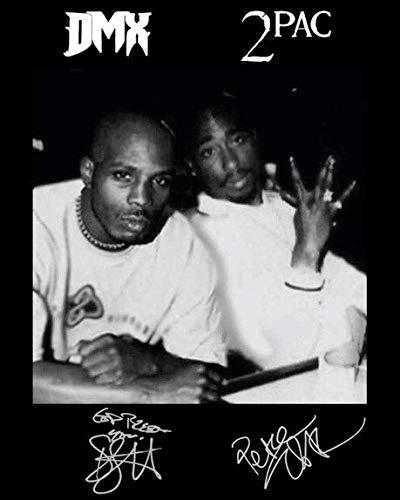DMX Tupac Shakur Reprint Signed Autographed 8x10 Poster Photo Reproduction Print Rap Legends …