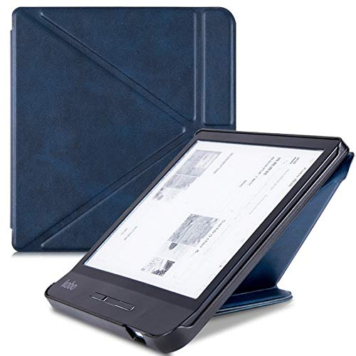 DLRSET Hülle kompatibel mit E-Reader, Kasten for Kobo Waage H2O EReader - Leichte...