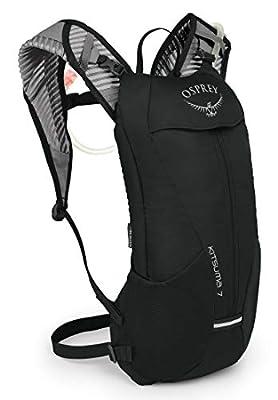 Osprey Kitsuma 7 Women's Bike Hydration Backpack, one Size, Black