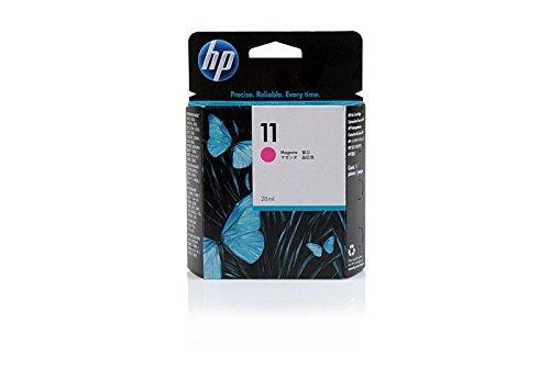 Original de tinta compatible con HP Color Inkjet CP 2600HP 11, 11m, 11Magenta, NO11, no11m, NO11Magenta, Nr 11C4837A, C4837AE–PREMIUM Impresora de tinta–Magenta–2000páginas–28ml