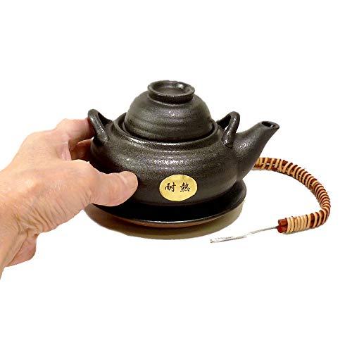 土瓶蒸し DG-5耐熱土瓶蒸し [350cc] 直火 料亭 旅館 和食器 飲食店 業務用