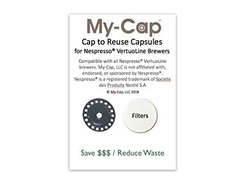 My-Cap's Foils & Filters for Nespresso VertuoLine Machines