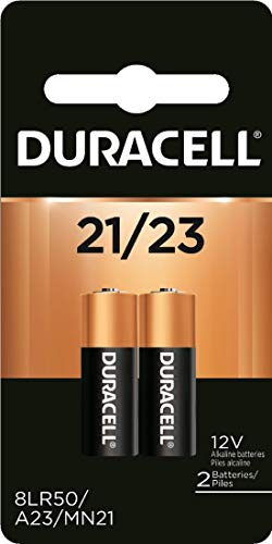 Duracell - 21/23 Alkaline Batteries - long lasting, 12 Volt specialty battery for household and business - 2 count