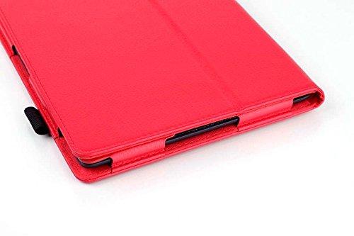 Lobwerk Schutzhülle für Lenovo Tab 1 A10-70 (A7600) aufstellbarer Tablet Schutz