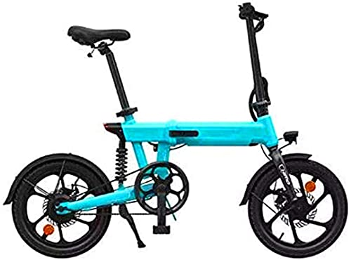 CASTOR Bicicleta electrica Bici eléctrica Plegable 36V 10Ah Batería de Litio de 16 Pulgadas Bicicleta de Bicicleta de 16 Pulgadas Bicicletas eléctricas eléctricas de la montaña eléctrica