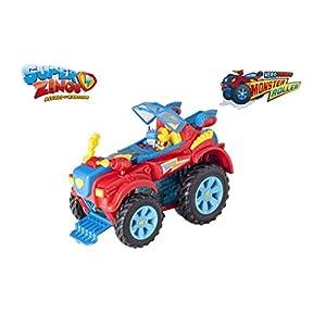 41ZN47mztKL. SS300  - SuperZings- PlaySet Heroe Truck Vehículos y Figuras Especiales, Color rojo, única (Magic Box PSZSP112IN20) , color/modelo surtido