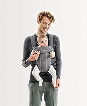 BABYBJÖRN Baby Carrier Mini 3D Jersey Dark Gray