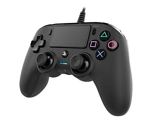 Nacon - Mando Compacto para PS4, Color Negro