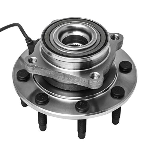 Price comparison product image Front Wheel Hub and Bearing Assembly Left or Right Compatible Chevrolet Avalanche Silverado Suburban GMC Sierra Yukon XL Hummer H2 1500 2500 3500 HD Classic AUQDD 515058 [ 8 Lug W / ABS ]