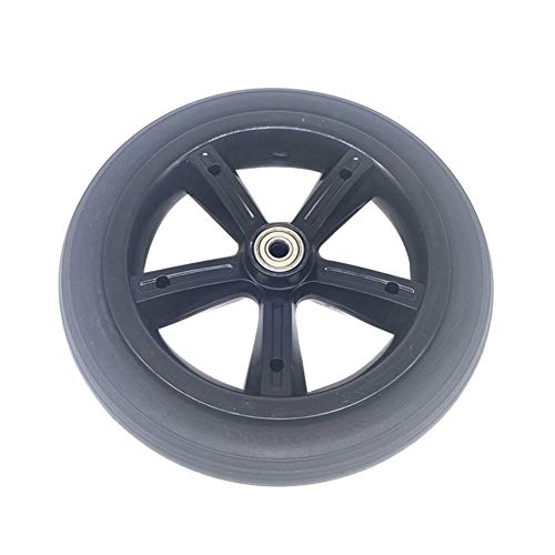 Rueda de Repuesto para Scooter, neumático de Scooter eléctrico portátil de 19 cm, neumático Exterior Antideslizante, Inflable/sólido, Rueda de Repuesto para neumático Delantero/Trasero