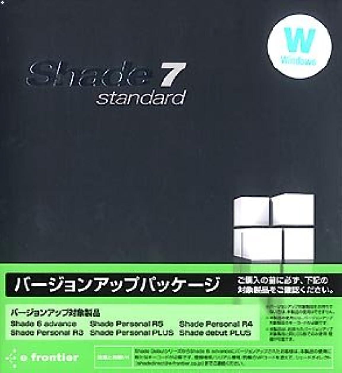 ペルセウスパースブラックボロウに対応するShade 7 standard for Windows バージョンアップパッケージ