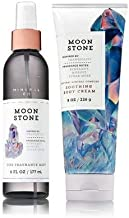 Bath & Body Works MOONSTONE Set - Body Cream and Fine Fragrance Mist Full Size