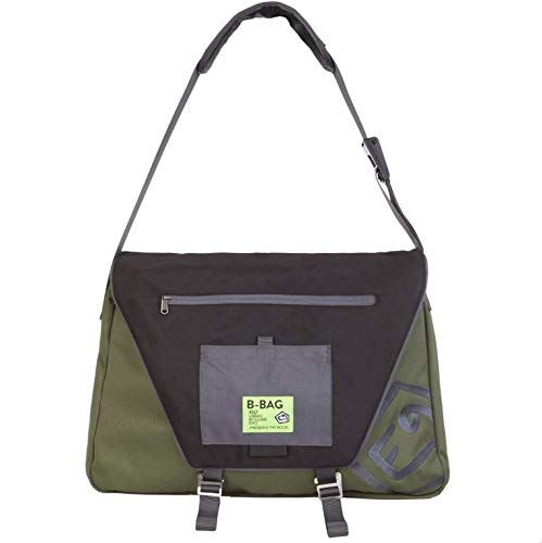 E9 Enove B-Bag Bolsa bandolera Unisex VAR.2 Verde Gris