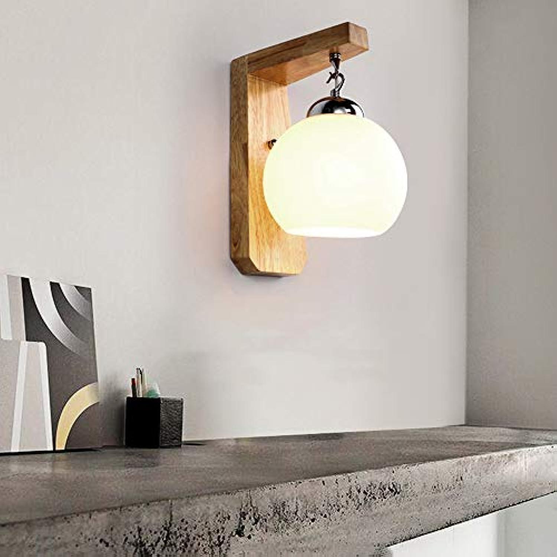 Lxc Warm Nachttischlampe Massivholz Moderne Nordische Wohnzimmer Kreative Persnlichkeit Schlafzimmer Führte Treppe Wandleuchte Beleuchten Sie Ihr Zuhause
