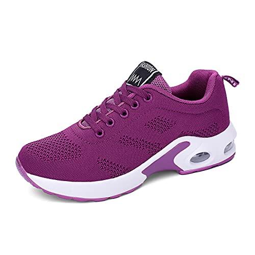 MQQ Zapatos de cojín de Aire de Verano Deportes Mujeres Deporte Zapatillas Blancas para Mujeres Zapatillas de Deporte de Aire Mujer Deportes Mujer,5,40