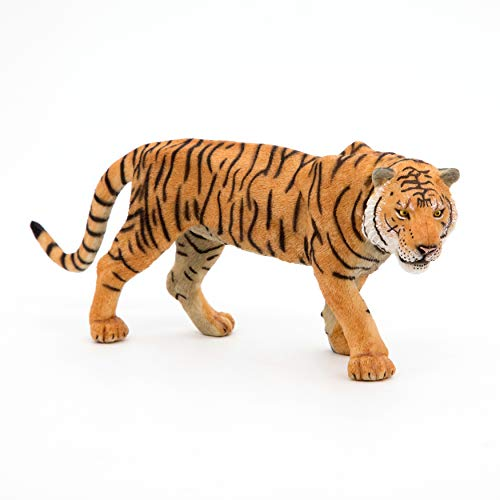 Papo 50004 Tiger WILDTIERE DER Welt Figur, Mehrfarben, one Size