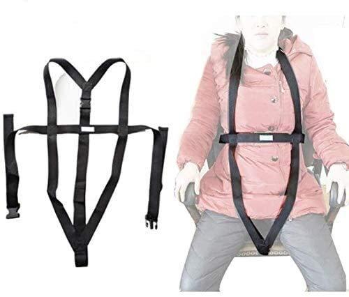 Torso Unterstützung SELF Release Rollstuhl Positionierung Gürtel und Einstellbare Cross-Schultergurt - Prevent Patient nach vorne schieben Universal-Patientenlift Sling 615 (Size : A)
