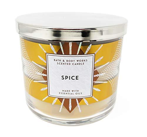 White Barn Bath and Body Works Home Spice Vela perfumada de