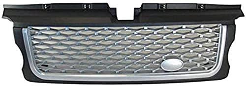 ABS Parrilla del Radiador del Parachoques Delantero para Land Rover Range Sport 2005-2009,Grill De Entrada De Aire Delantera,Modificación de Coche Accesorios de Decoracion