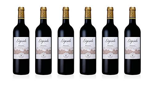 DOMAINES BARONS DE ROTHSCHILD Legende R Médoc 55% Cabernet sauvignon, 45% Merlot 2017 13% (6 X 0,75 l)