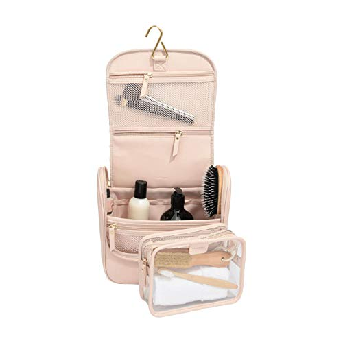 Stackers Trousse de Toilettes à Suspendre en Rose pâle