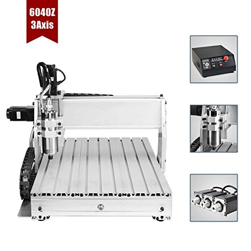 6040 3 Axis CNC Machine 600x400mm Milling Machine CNC Engraving Machine 1500W CNC Router Machine USB CNC Graviermaschine 3 Achse(6040T 3 Axis)