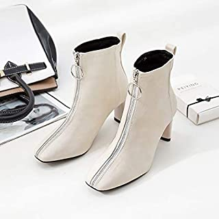 Amazon.es: botines blancos mujer