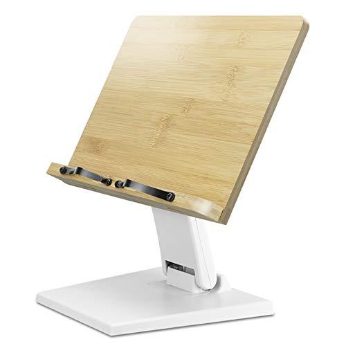 ブックスタンド書見台 卓上 勉強 高さと角度自由調整可能 筆記台 ブックホルダー データホルダー 本立て 折り畳み 本 ブックストッパー 楽譜 読書スタンド 読書台 持ち運び