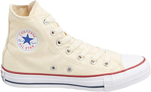 Converse Jungen Sneakers Chuck Taylor All Star M9162 High-Top, Beige (Elfenbein), 41 EU