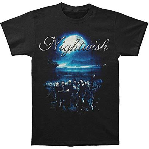 ZHANGLIAOC Nightwish Men's Showtime Storytime T-Shirt Black
