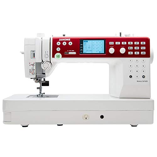 Janome MC6650 Sewing and Quilting Machine with Exclusive Bonus Bundle