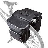 Cartman 30L Bike Bag Bike Pannier Bag Waterproof Bike Saddle Bag Extensible Bicycle Rear Seat Bag