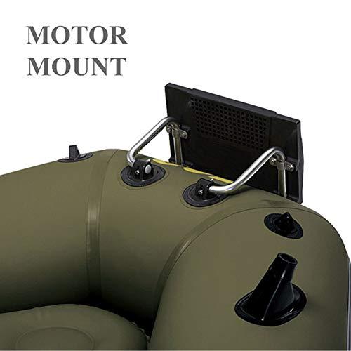 Trolling Motor Mount Rack Air Boat Soporte para Kayak Soporte para Colgar del Bote Inflable Soporte de hélice para Bote de Goma 26 * 3.8 * 40 CM