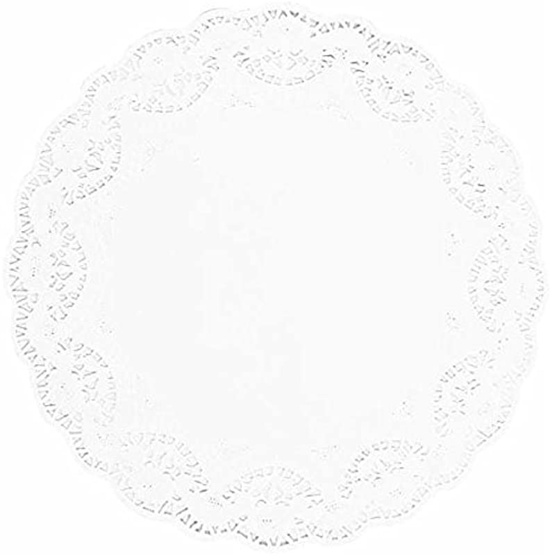 White Round Doilies 12 Pack Of 9 Party Supply