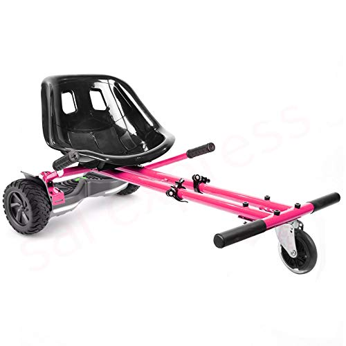 ENYAA 2018 hoverkart de suspensión para 6.5.8 accesorios de hoverboard de 10 pulgadas Smart Scooter eléctrico Go Karting Kart para niños adultos. Suspensión rosa