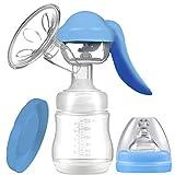 DENGHENG Portatile Manuale Tiralatte Del Bambino Capezzolo Aspirazione Alimentazione Bottiglie di Latte Alimentatore Del Grado Alimentare Infantile Breastfeeder Bottiglia Pratica