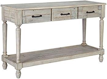 Signature Design by Ashley Shawnalore Sofa Table with Fixed Shelf