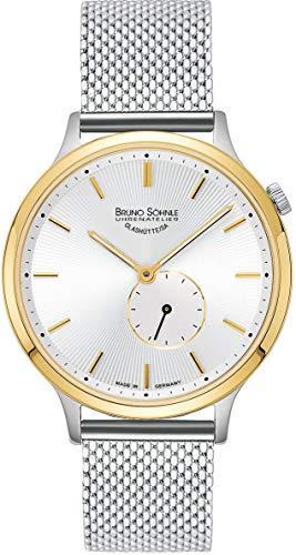 Bruno Söhnle Damen Analog Quarz Uhr mit Edelstahl Armband 17-23213-240
