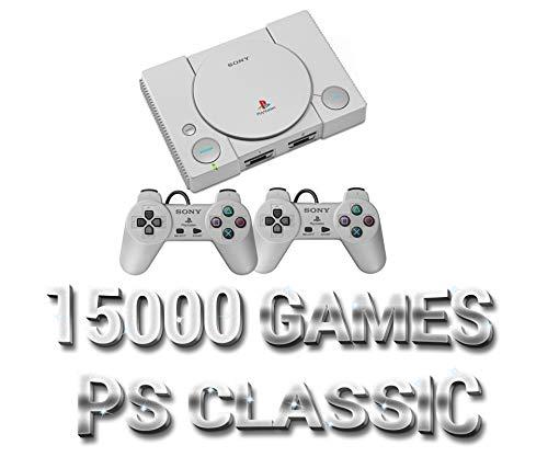 MINI PS Classic 15000+ Games Hacked Modded, SNES, NES, Sega, Dreamcast, Arcade