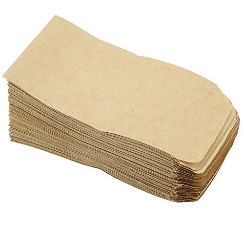 Garosa 100 STÜCKE Hybrid Samenumschläge Kraftpapiersäcke Corns Weizen Reis Samen Verpackung Aufbewahrungstasche(6 * 11cm)