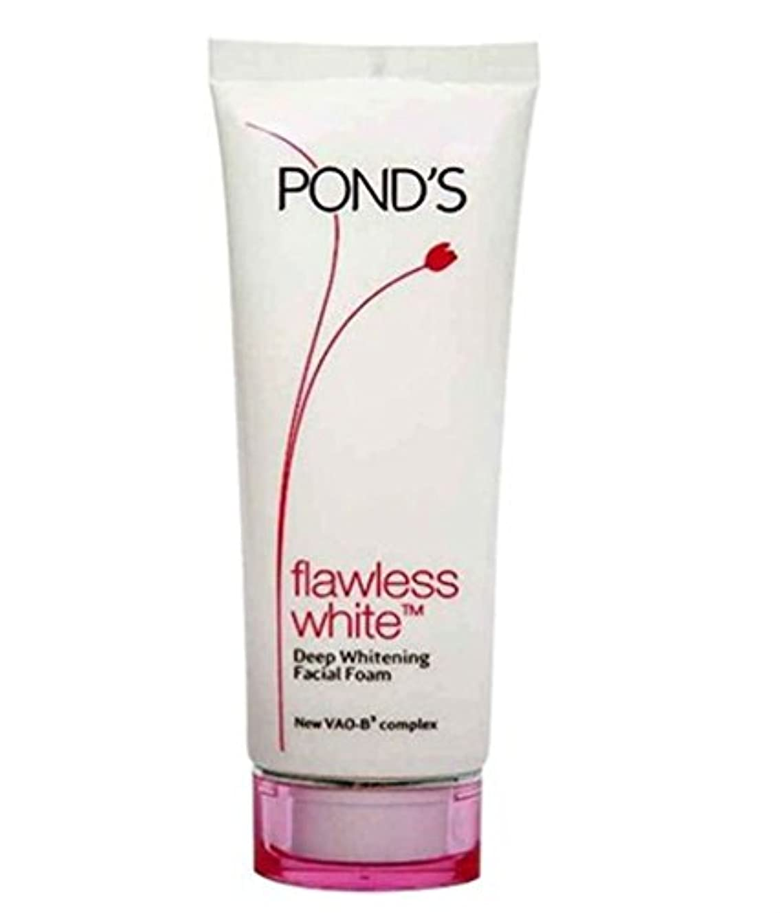 ベーシック帰る肉のPond's Flawless White Deep Whitening Facial Foam, 100g