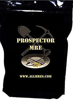 PROSPECTOR MRE  The Gold-Miner  Menus 1 - 12 with 1st Insp.Date 2020 - 2023  Menu 6  The Gold-Miner