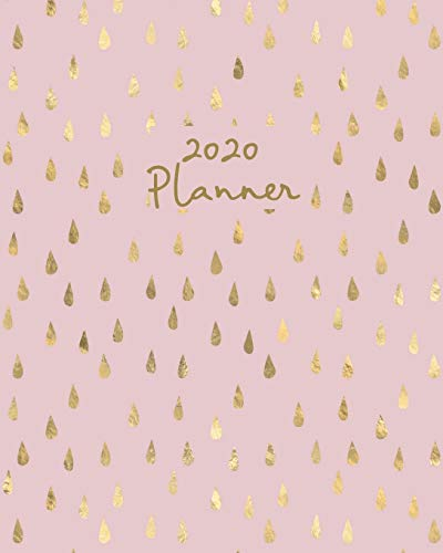 2020 Planner: Weekly Basic Large Planner: 52 Week Agenda: Extra Dot Grid Pages: Pretty Porcelain Pink Paperback Cover