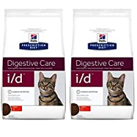 HILL'S PRESCRIPTION DIET FELINE I/D DIGESTIVE CARE - CHICKEN is a clinically proven dry food containing 37% chicken and other highly digestible ingredients such as brewer's rice and maize gluten. All these ingredients combine to create a digestible m...