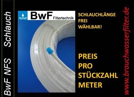 LÄNGE IN METER FREI WÄHLBAR BwF Kühlschrankschlauch 6mm (1/4