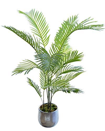 Palmera Artificial, Ideal para Decoración del Hogar u Oficina, Planta Artificial (150 cm)